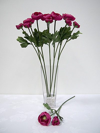 "18.5"" Ranunculus Spray"