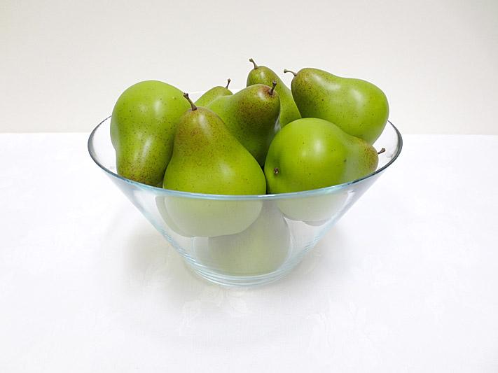 Single Green Pear w/weight