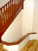 Staircase Display – Before