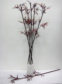 "46"" Red Porcelain Bamboo"