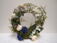 Rose & Orchid Wreath