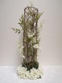 Tall Orchid & Hydrangea Centrepiece