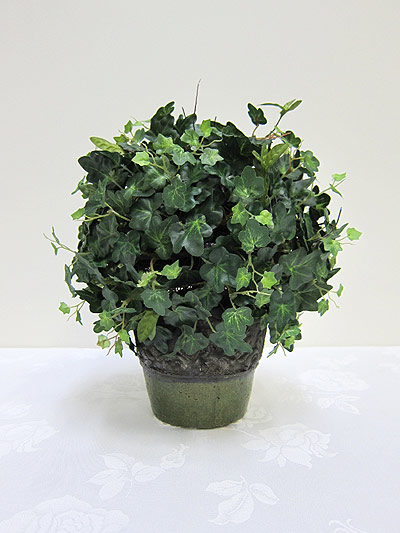 11&#8221; Mini Ivy Ball in Terracotta Pot