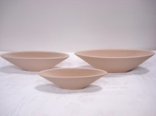 Set/3 Oval Tapered Vase