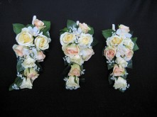 Rose & Orchid Set – Bridesmaids' Sheath Bouquets