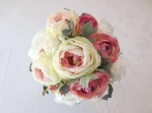 Cabbage Rose Set – Bridal Posy