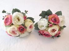 Cabbage Rose & Ranunculus