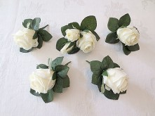 Cabbage Rose Set – Buttonholes
