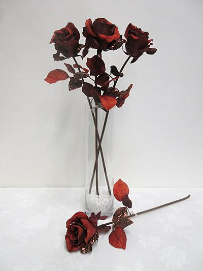 Single Glitter Rose