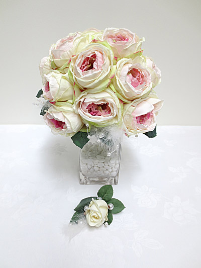 Cabbage Rose Posy