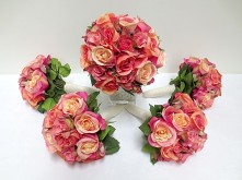 Peach Rose Set – Bouquets