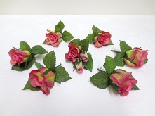 Peach Rose Set – Buttonholes