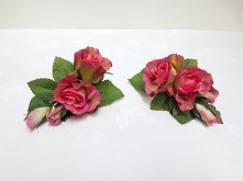 Peach Rose Set – Lady Corsages