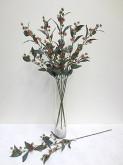 38″ Eucalyptus Flower Spray