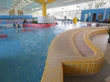 Main Pool Area Display – Before