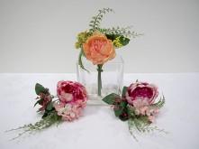 Peony/Hydrangea/Queen Anne Lace Bouquet