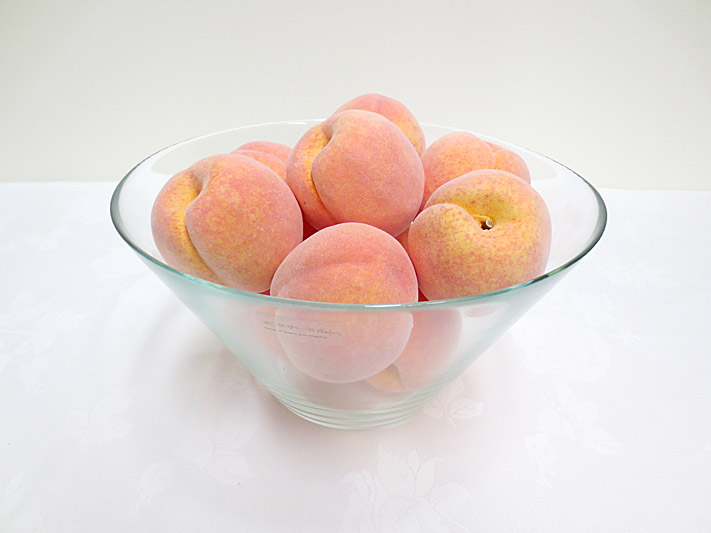 Single Peach w/weight
