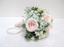 Rose/Baby's Breath Posy