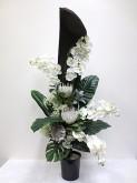 Lg. Native & Orchid Arrangement