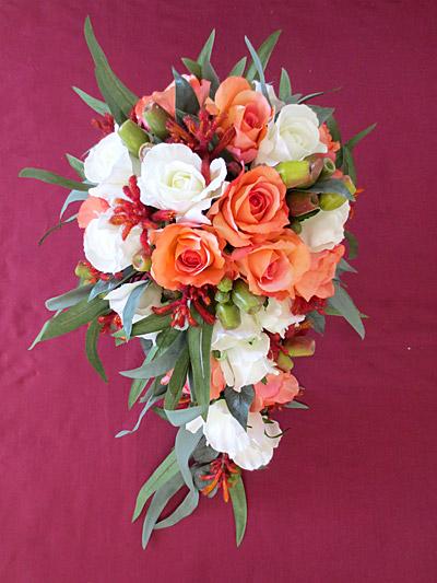 Native Rose & Kangaroo Paw Set – Bridal Teardrop