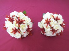 Native Rose & Kangaroo Paw Set – Bridesmaids' Posies