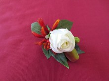 Native Rose & Kangaroo Paw Set – Groom's Buttonhole