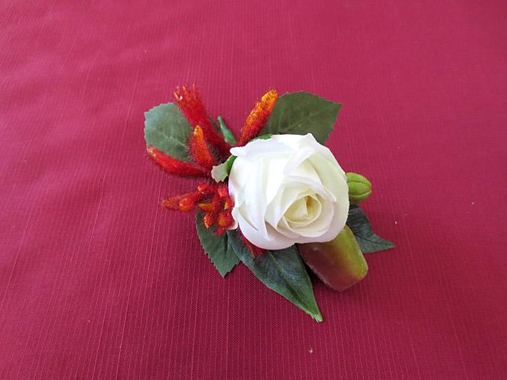 Native Rose & Kangaroo Paw Set – Groom's Buttonhole