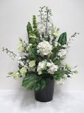 Lg. Hydrangea & Delphinium Arrangement