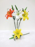 "16"" Tiger Lily on Short Stem"