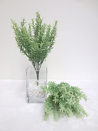 Flocked Snapdragon Grass Bush
