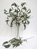 Eucalyptus Spray w/Flowers & Nuts