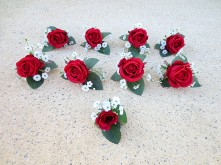 Custom Rose & Calla Lily Wedding Set