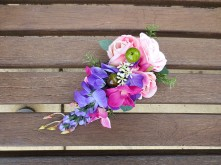 Side-swept Flower Crown