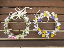 Assorted Small Flower Crowns