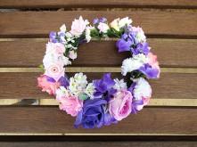 Rose & Carnation Flower Crown
