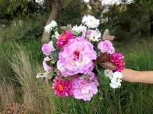 Peony & Dahlia Nosegay Bouquet