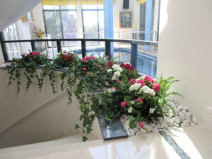 Home Pool Display – Staircase