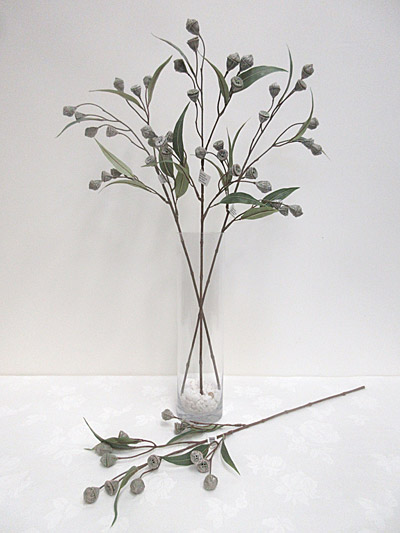 28″ Eucalyptus Pods Spray