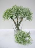 11″ Baby's Breath Bouquet (White)