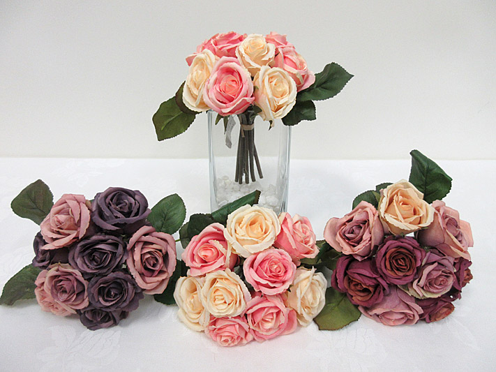 7.5″ Mini Rose Bouquet