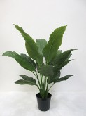 34″ Potted Real-touch Spathiphyllum Plant