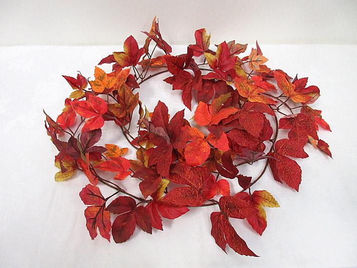 6′ Autumn Maple Garland