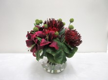 Lilium & Protea Posy Arrangement