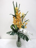 Tall Orchid & Lisianthus Arrangement