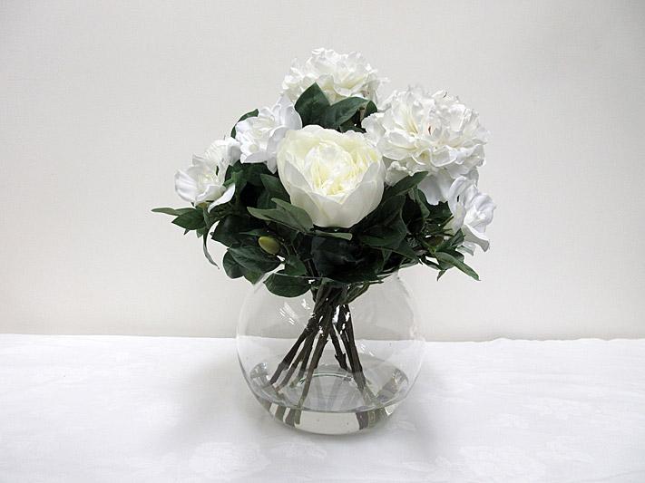 Peony & Gardenia Posy Arrangement