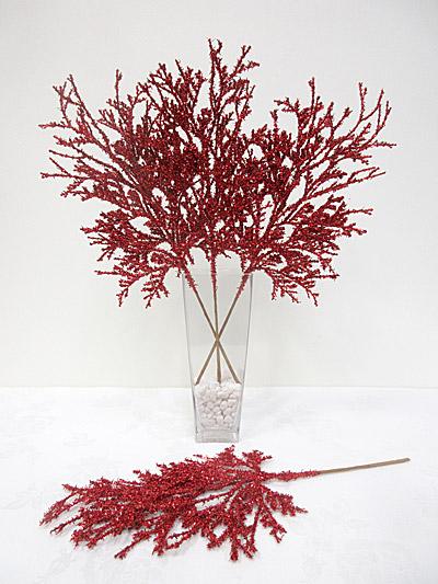 Glitter Cedar Spray (Red)