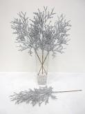 Glitter Cedar Spray (Silver)