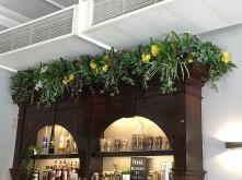 Bar Greenery Decor