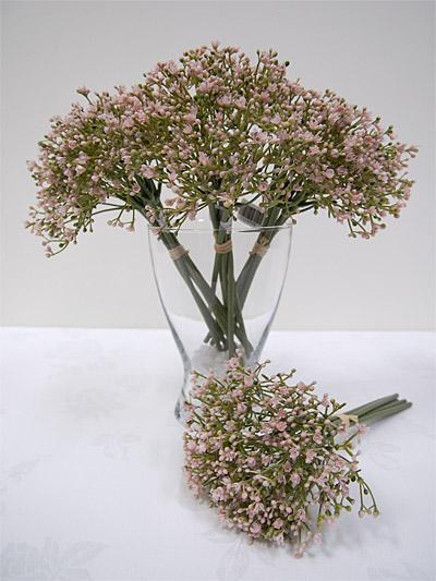 11″ Baby's Breath Bouquet (Pink)