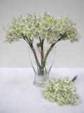 30cm Waxflower Bouquet (White)